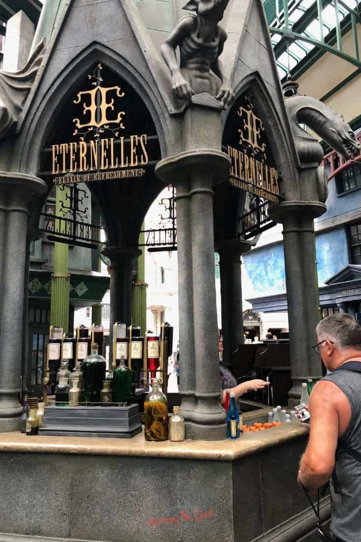 Eternelle's Elixir of Refreshment stand
