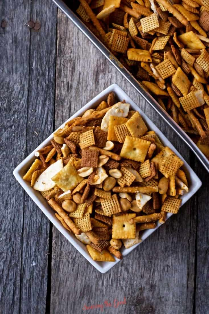 easy Buffalo Wing Chex Recipe