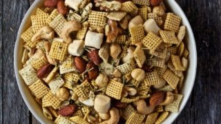 Rosemary and Thyme Chex Mix