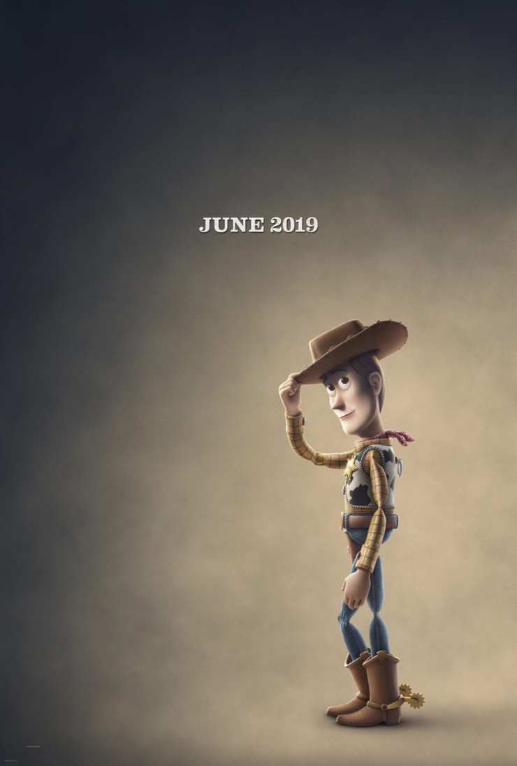Toy Story 4 Teaser poster Woody