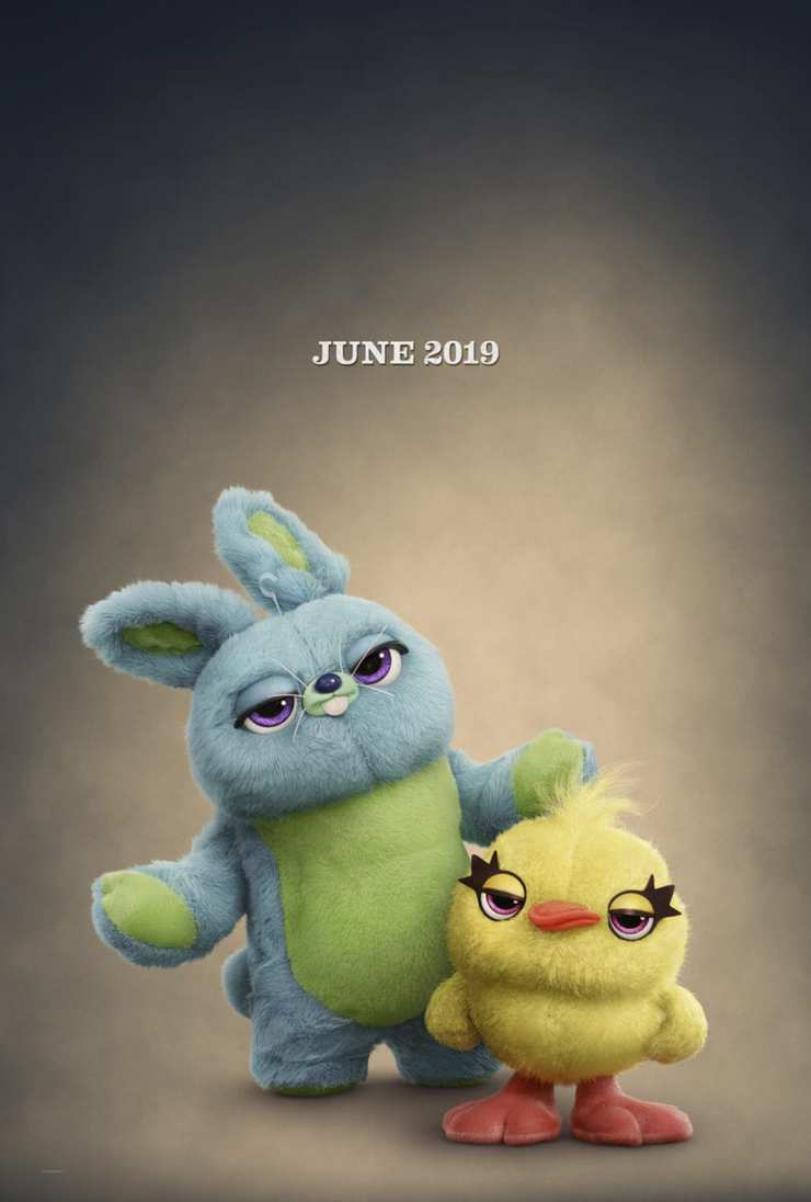 Toy Story 4 Teaser poster Bunny and ducky