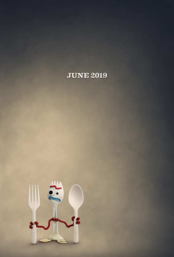 Toy Story 4 Teaser poster Forky