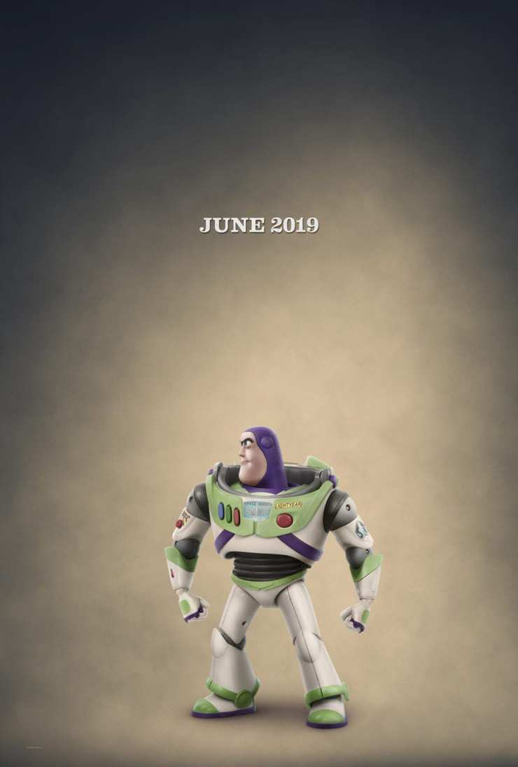 Toy Story 4 Teaser poster Buzz Lightyear