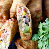Tex Mex Egg Rolls Recipe