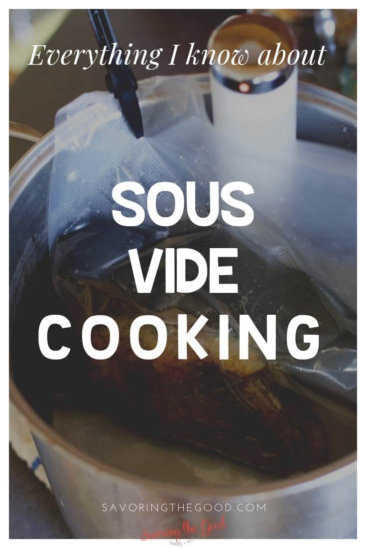 a guide to Sous Vide cooking