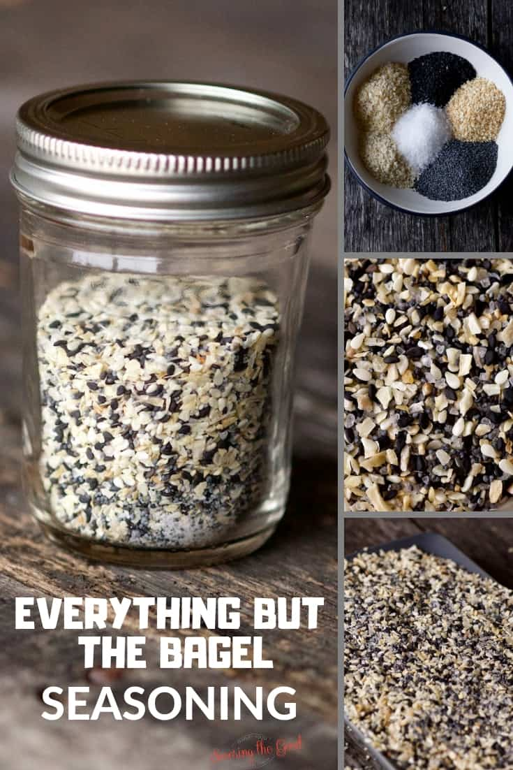 Everything But The Bagel Seasoning collage part 2 for pinterest