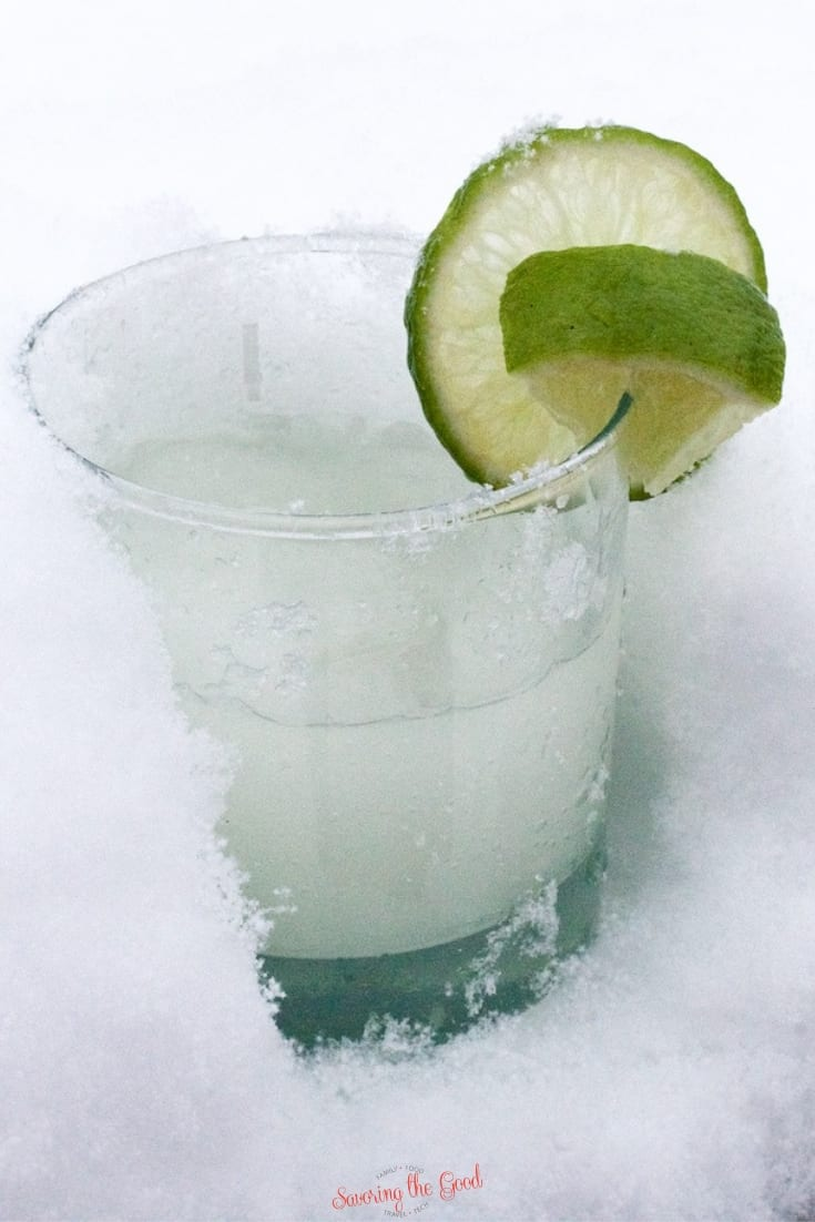 easy winter Snow Day Margarita
