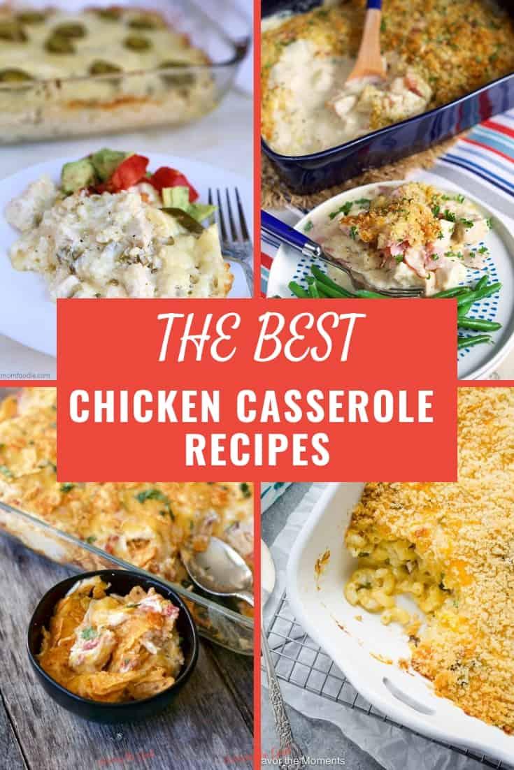 Chicken Casserole Recipes graphic