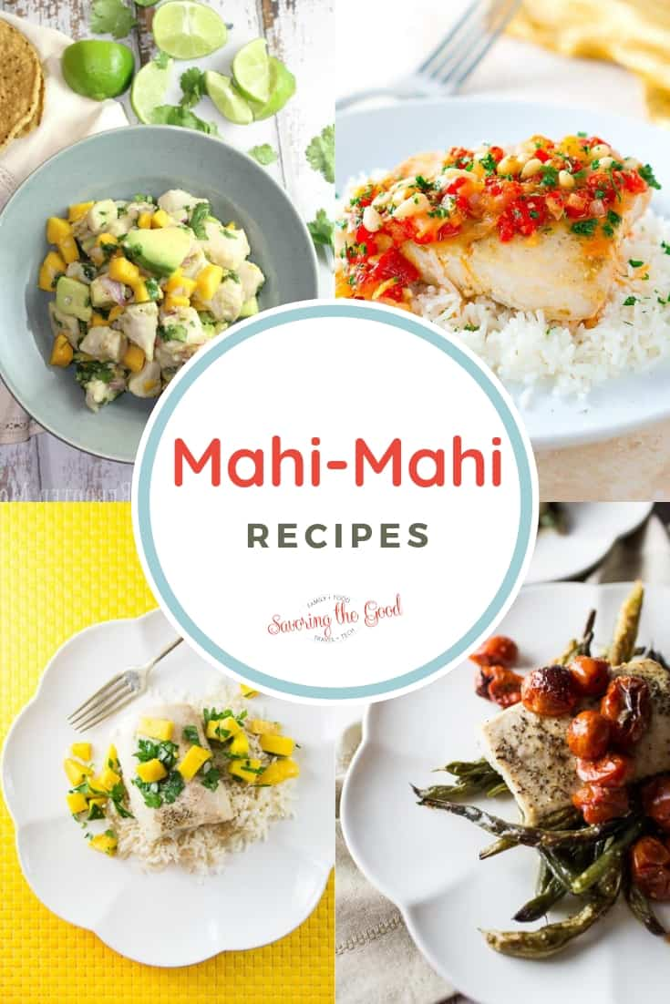 Mahi Mahi Recipes collage