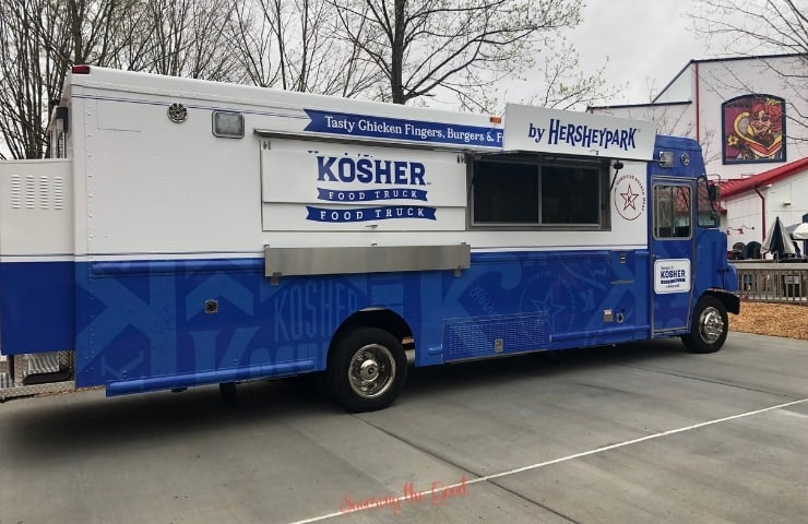 kosher food truck at hersheypark