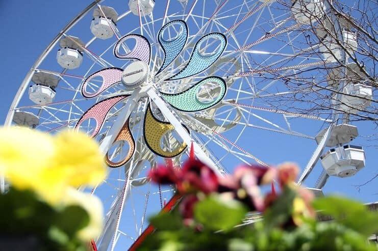 hersheypark spring ferris wheel
