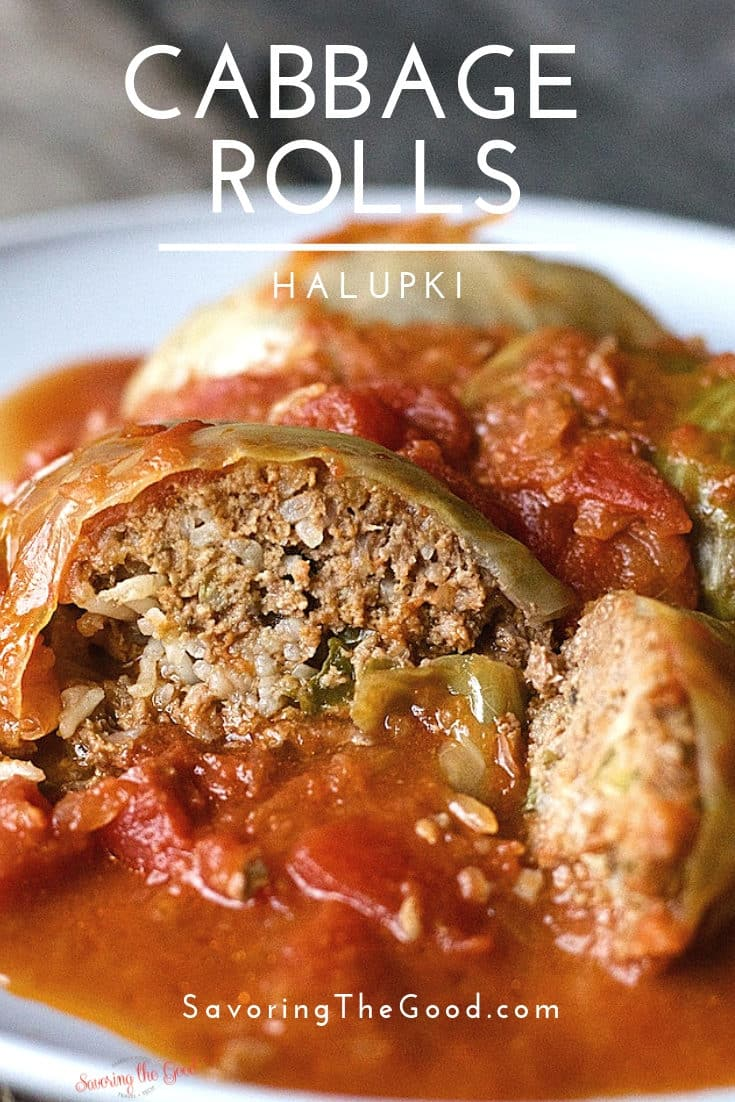 One of the comfort foods of my youth are stuffed cabbage rolls, also called Halupki. This is my family's cabbage roll recipe and you will be surprised how easy they are to make. This is the ultimate comfort food from the old country. #stuffedcabbage #cabbagerolls #cabbageroll #halupki #STGRecipes