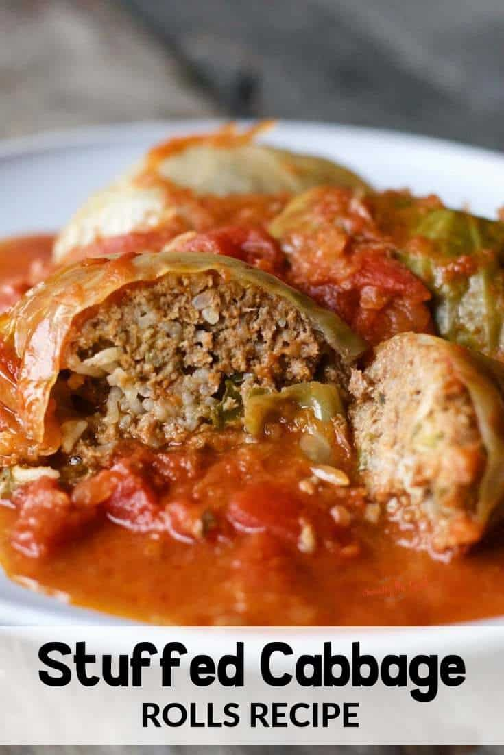 old world stuffed cabbage rolls