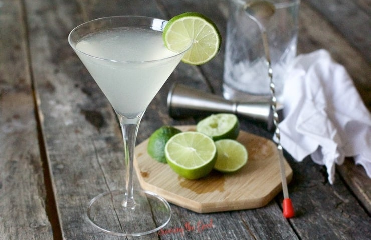 horizontal image of Gimlet