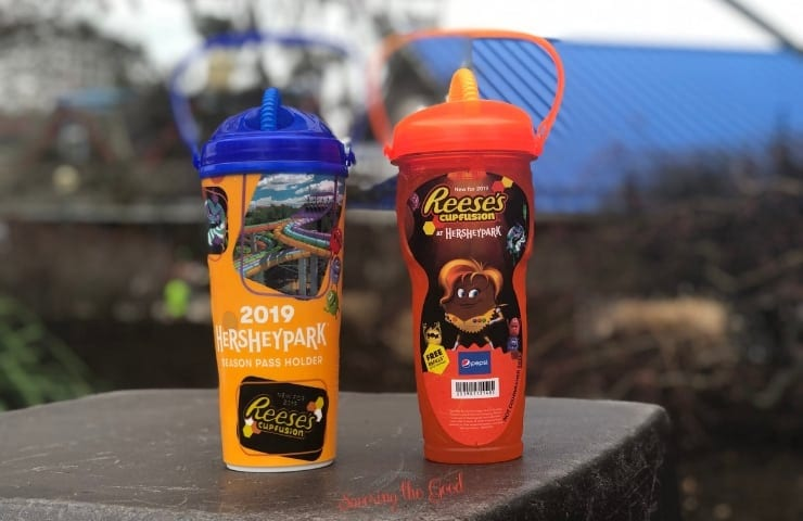 Hersheypark drink cups 2019