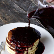 The Best Homemade Blueberry Syrup Recipe