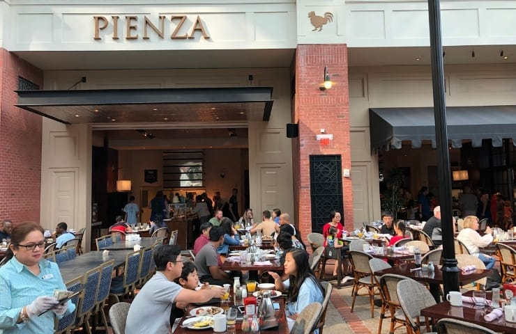 restaurant pienza at SummerFest at Gaylord National