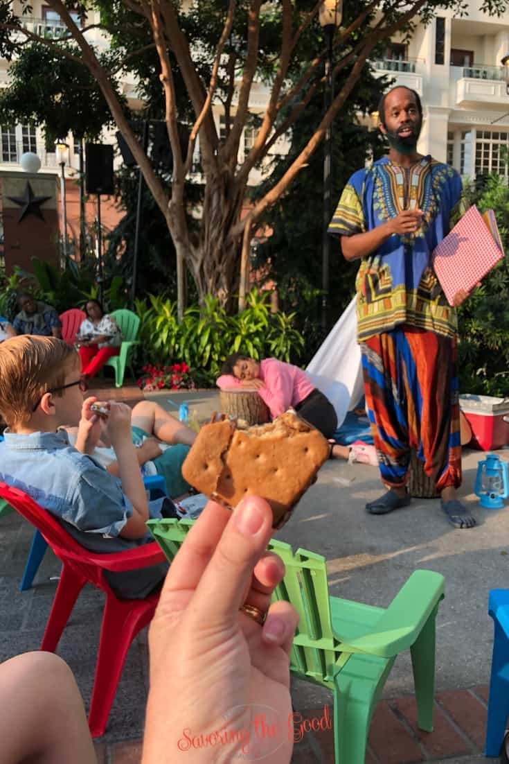 Campfire Tales and S'more at SummerFest at Gaylord National