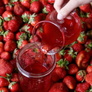 Strawberry Simple Syrup Recipe
