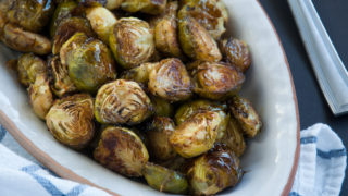 Roasted Brussel Sprouts with Browned Butter Sauce