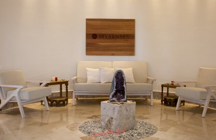 lobby of My Senses Haven Riviera Cancun