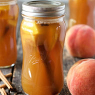 Sous Vide Peach Moonshine Recipe