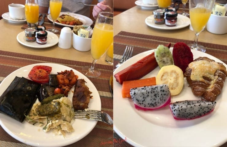 breakfast at haven riviera cancun