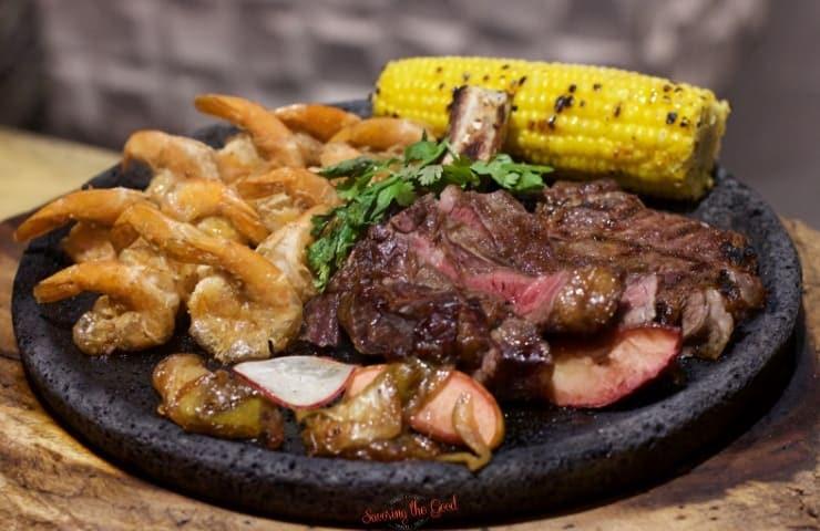 cowboy steak at restaurants at haven riviera cancun