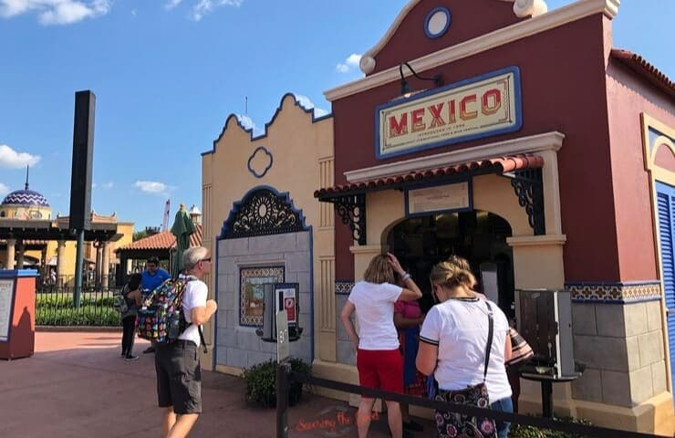 Epcot food and wine festival Mexico pavilion