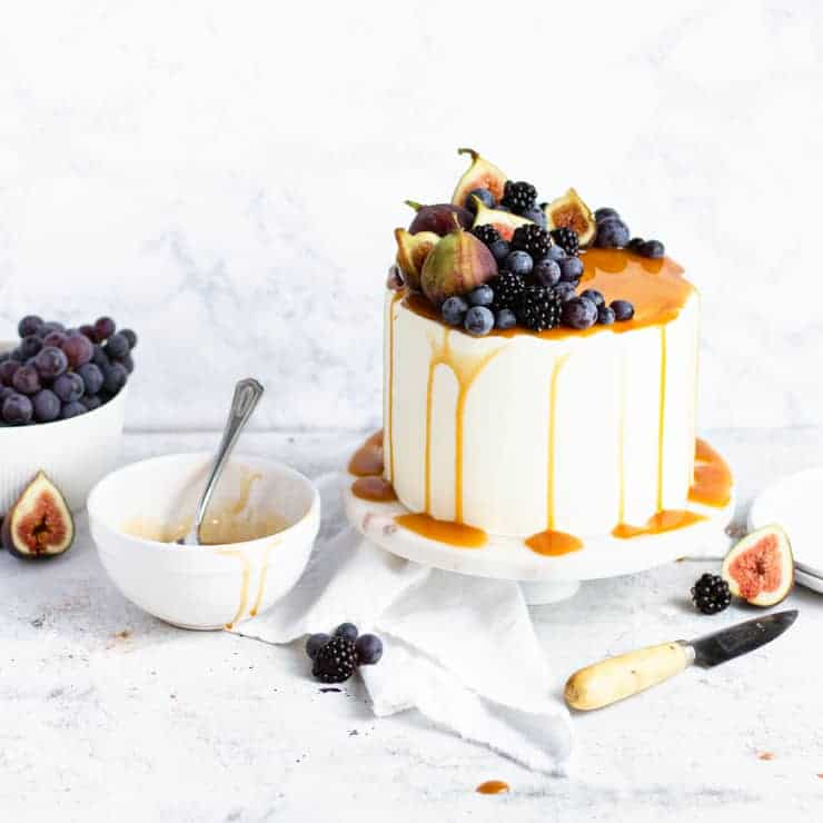Sweet Potato Cake With Marshmallow Buttercream
