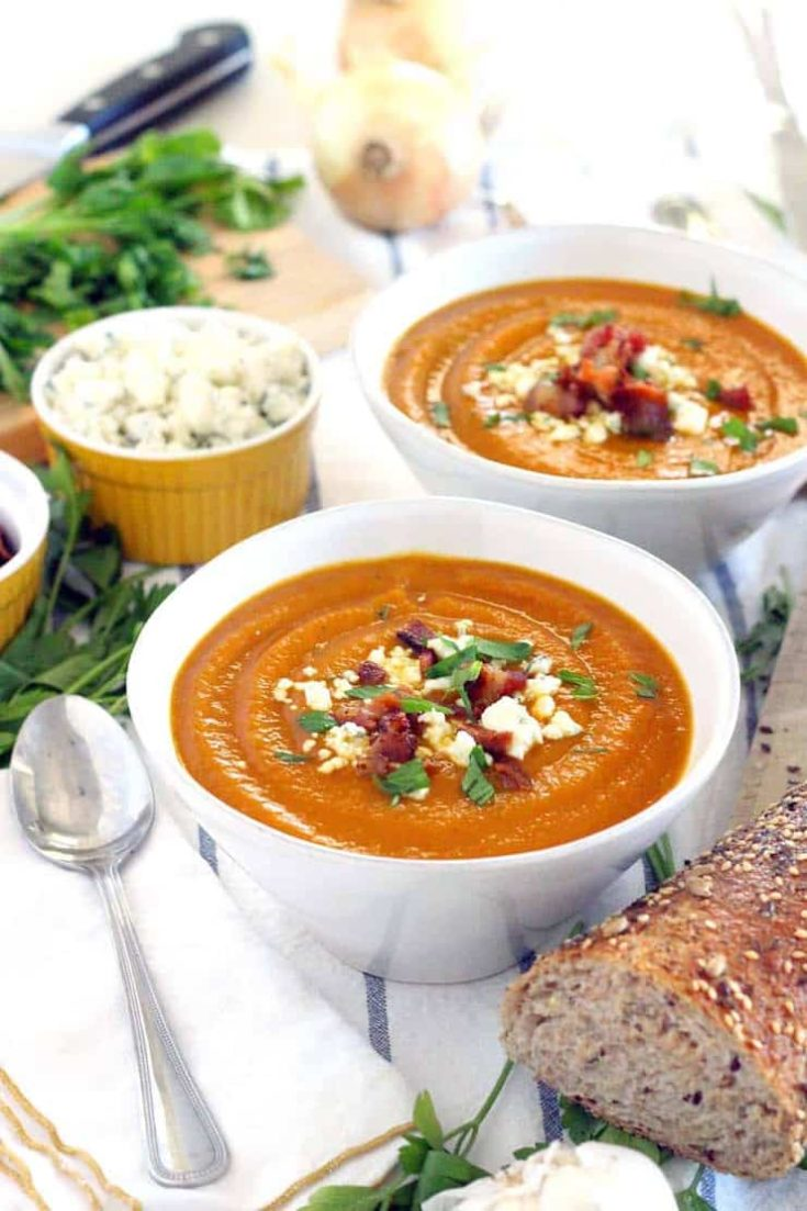 Smoky Sweet Potato Soup