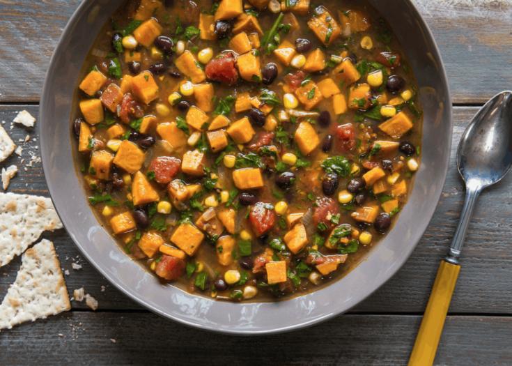 Spicy Sweet Potato Soup Recipe