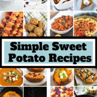 Over 50 Simple Sweet Potato Recipes