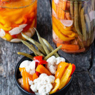 Sous Vide Pickled Vegetables