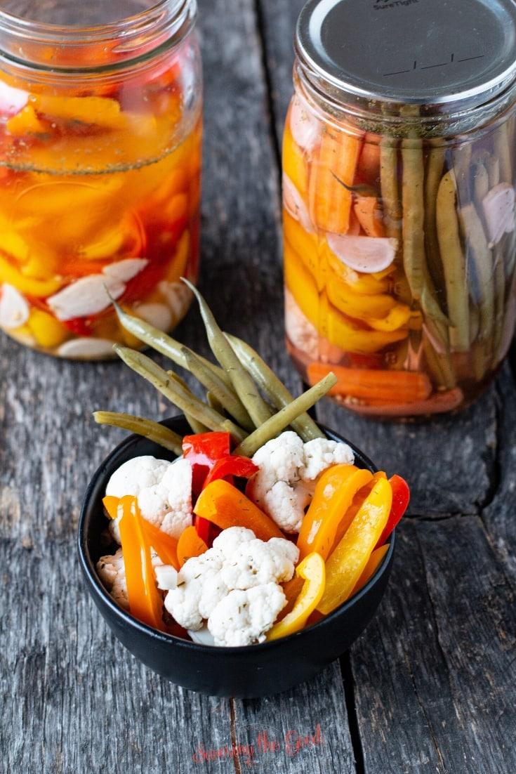 Sous Vide Pickled Vegetables