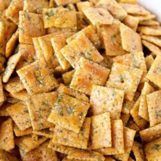 Seasoned Ranch Cheese Crackers