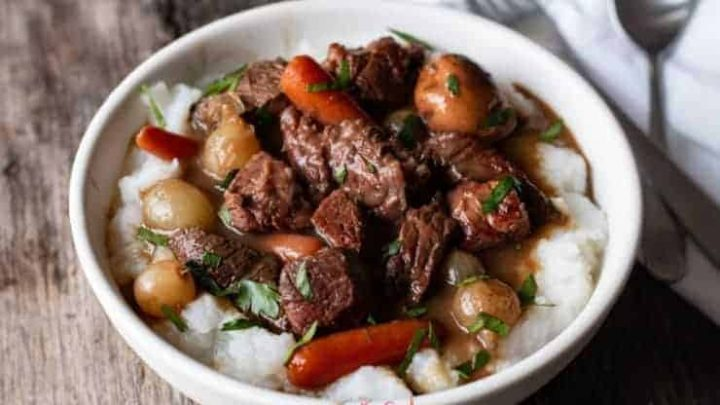 Sous Vide Guinness Beef Stew