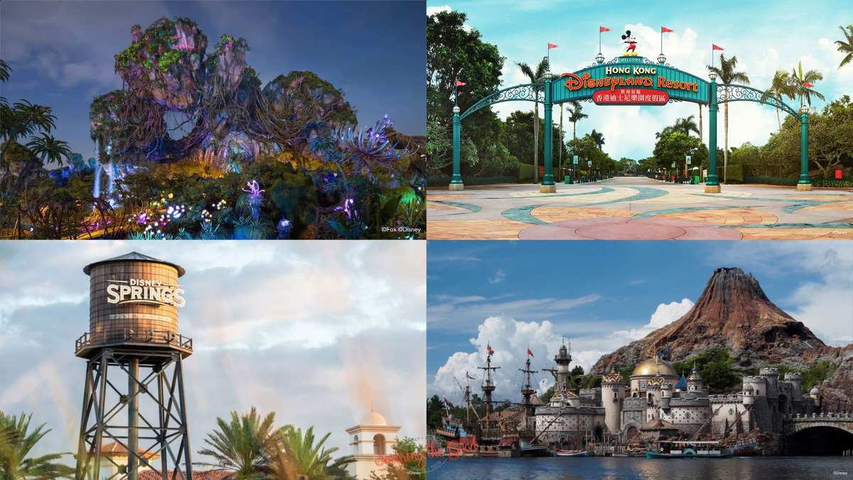 Disney Parks Backgrounds