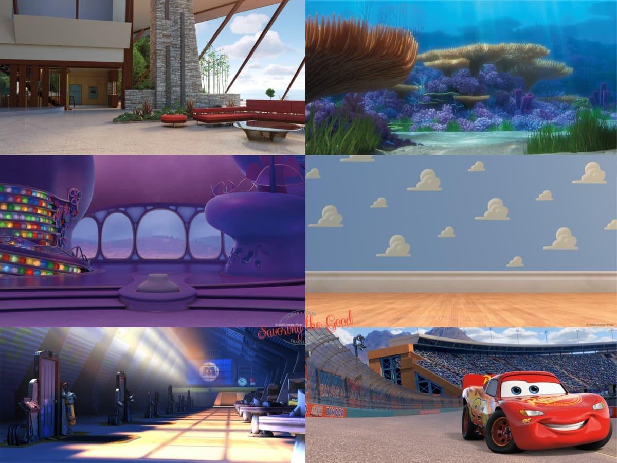 Disney/Pixar zoom backgrounds graphic