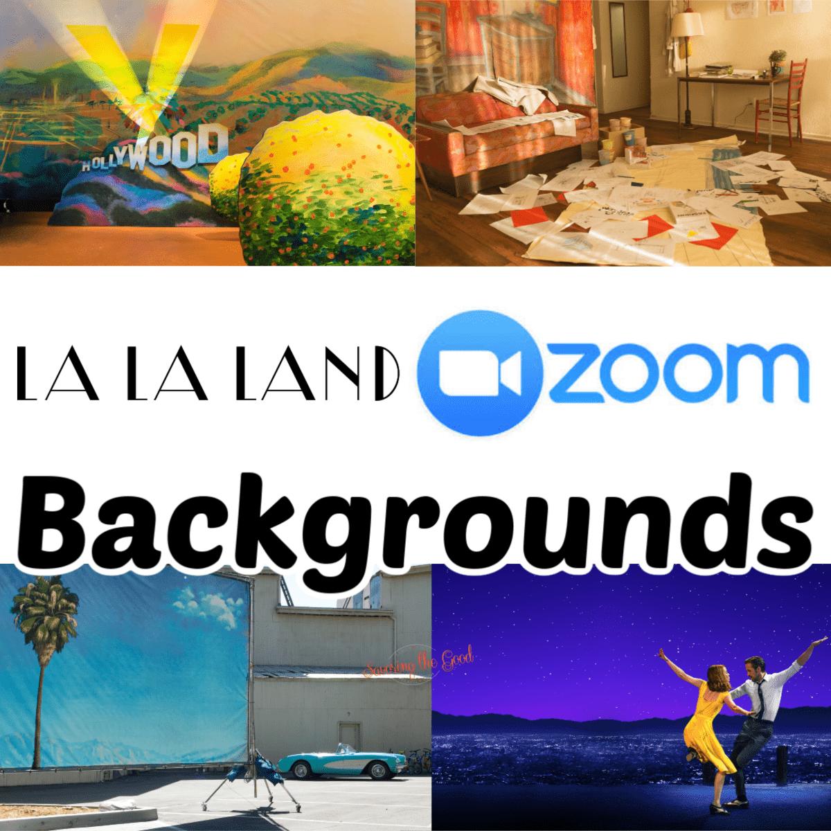 La La Land Wallpaper Background for Zoom