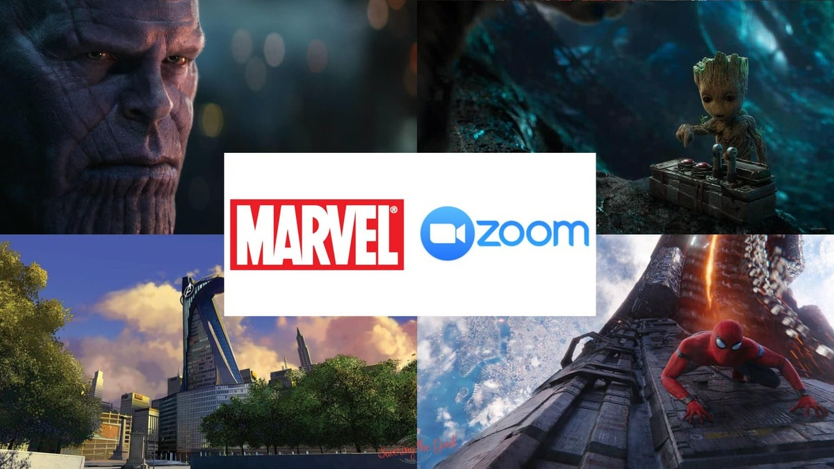 Marvel Backgrounds for Zoom Calls