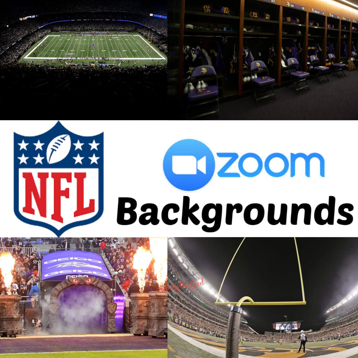 NFL Backgrounds for zoom