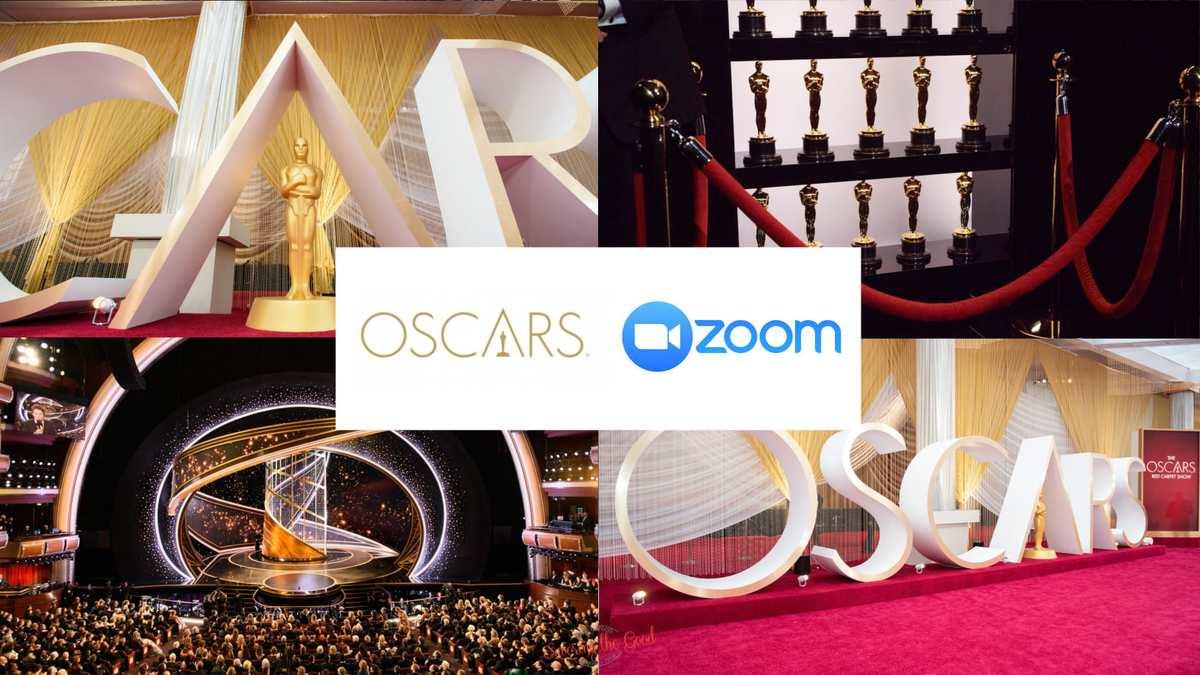 Oscars Zoom Backgrounds