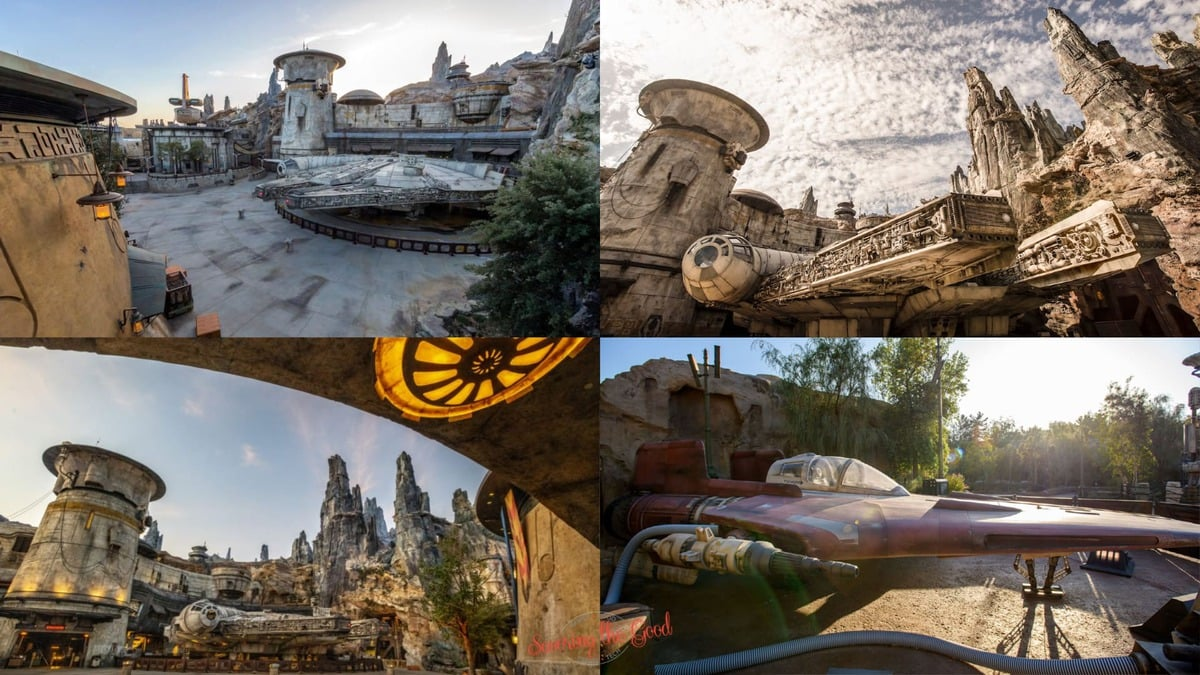 Star Wars Galaxy's Edge Backgrounds 4 on the page