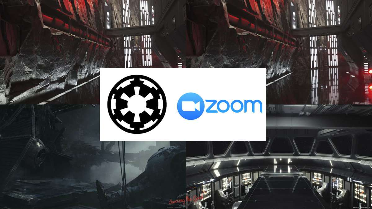 The Dark Side zoom backgrounds