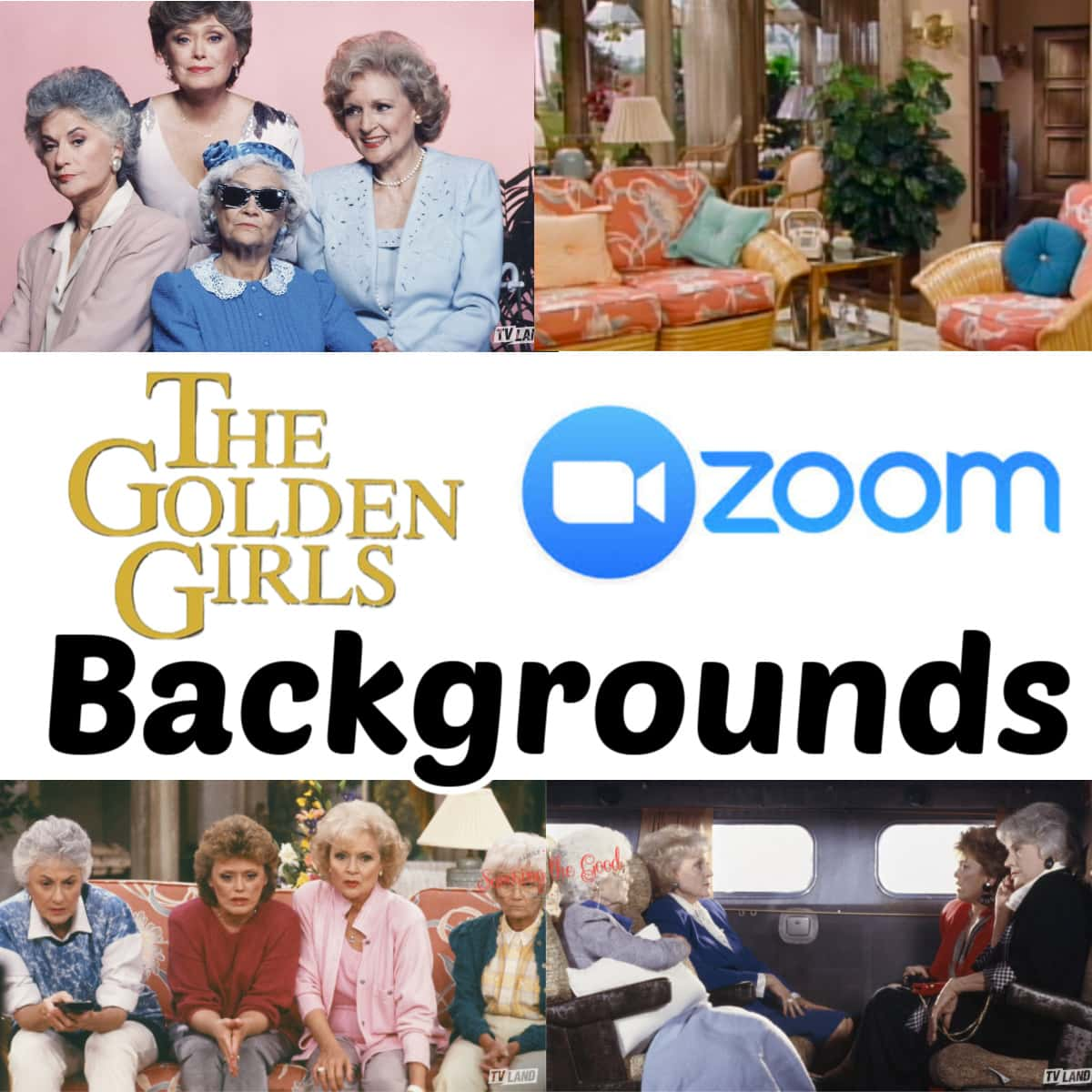 The Golden Girls Wallpapers for zoom