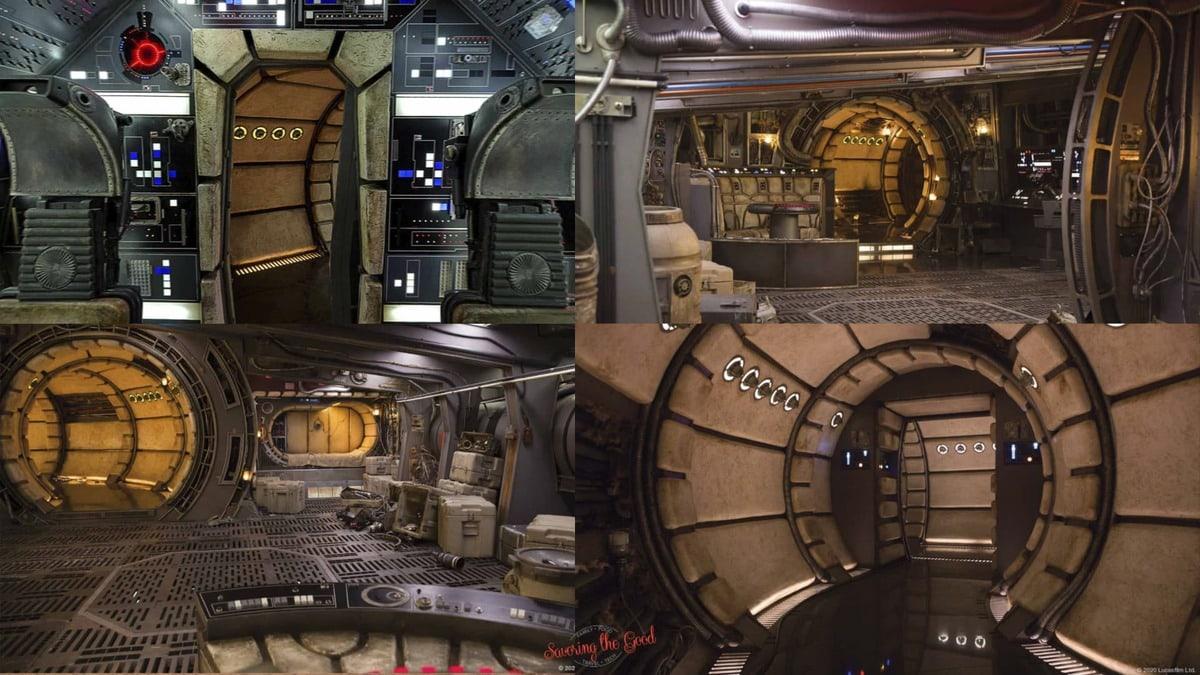 The Millennium Falcon Zoom Backgrounds