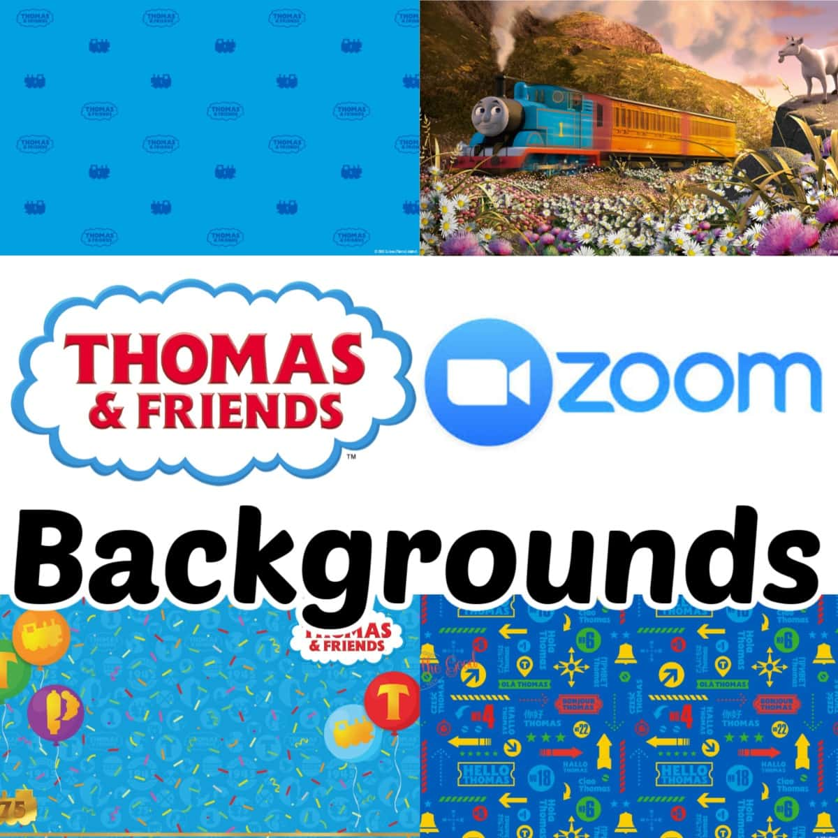 Thomas and Friends Wallpaper Backgrounds graphic