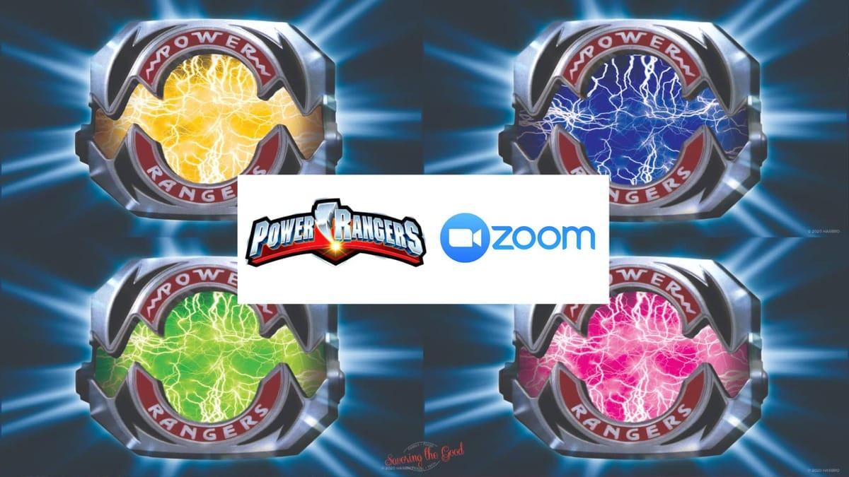 power ranger zoom background