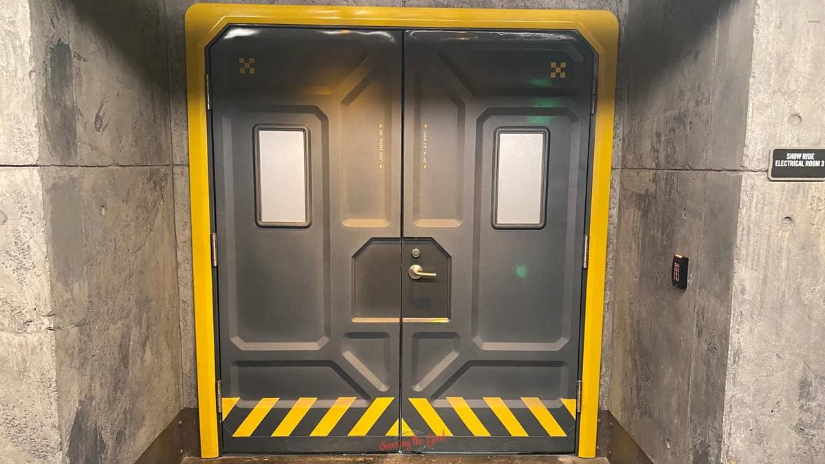 Pandora The World of Avatar Alpha Centauri Expeditions (ACE) Security Door Wallpaper for Zoom